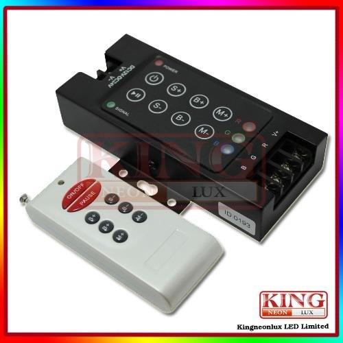Led Rf 8-Key Controller Dc5V, 12V, 24V, 5V: <60W, 12V: <144W, 24V: <288W