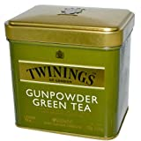 Twinings Gunpowder Green Tea- 3.53 oz. Loose Tea Tin