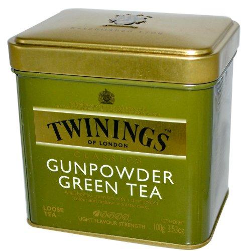 Twinings Gunpowder Green Tea- 3.53 oz. Loose Tea Tin