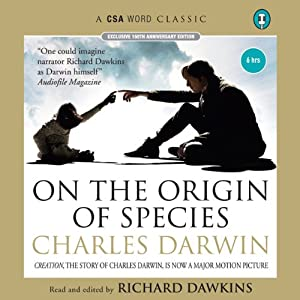 On the Origin of Species (       ABRIDGED) by Charles Darwin Narrated by Richard Dawkins