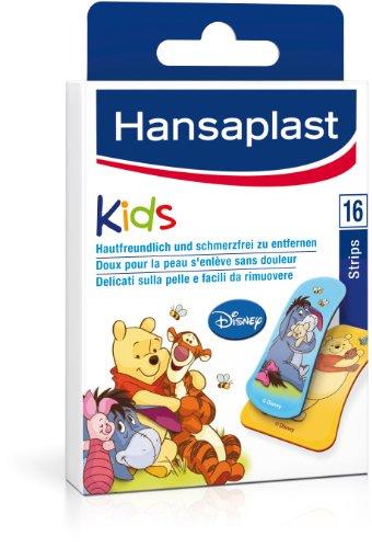 Hansaplast Winnie Puuh Kinderpflaster, 2er Pack (2 x 16 Stück)