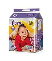 Libero Open Medium Size Diaper (60 Count)