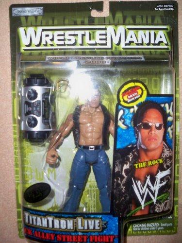 The Rock! WrestleMania! TitanTron Live!