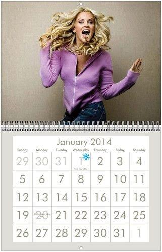 Cal 98 Jenny McCarthy Vegas Vacation Calendar