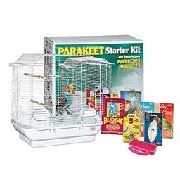 Living World Parakeet Belvedere Cage Starter Kit