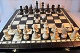 ChessEbook Schachspiel + Dame + Backgammon 40 x 40 cm Holz hergestellt von Chessebook