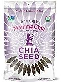 Mamma Chia Organic Seeds, Black, 12 Ounce