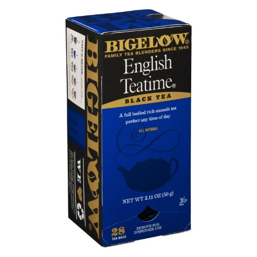 Bigelow Tea Bags, English Teatime Black, 28-Count Boxes (Pack Of 6) front-480260