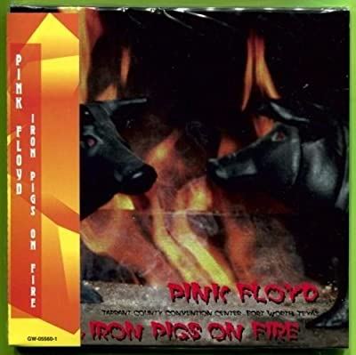 Pink Floyd IRON PIGS ON FIRE May 1, 1977 gate-fold mini LP 2CD w/OBI Strip