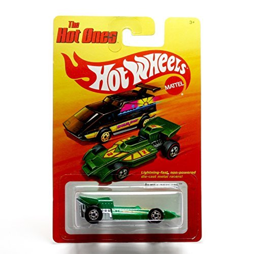 EL REY SPECIAL (GREEN) * The Hot Ones * 2011 Release of the 80's Classic Series - 1:64 Scale Throw Back HOT WHEELS Die-Cast Vehicle