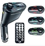 viola.create FMトランスミッター iphon MP3 USB SD 液晶付 グリーン