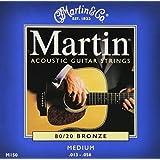 Martin M150 Medium Acoustic Guitar strings, Martin & Co