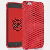 AndMesh iPhone 6s Plus ケース メッシュケース レッド AMMSC631-RED