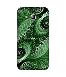 Green Fractal Samsung Galaxy J3 Case