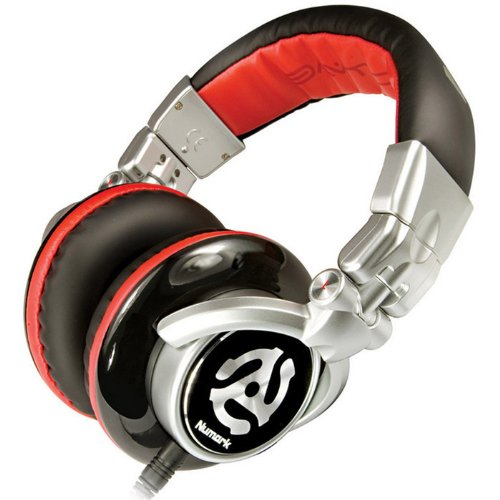 Numark Red Wave Headphone. Numark Dj Headphones Headst. Stereo - Phono - Wired - Over-The-Head - Binaural - Ear-Cup