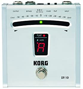 korg dt10 digital guitar foot pedal tuner musical instruments. Black Bedroom Furniture Sets. Home Design Ideas