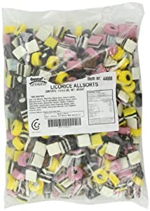 Candy Crate Gustaf's Licorice Allsorts Sealed Bag, 6.6 Pound