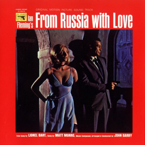Original album cover of From Russia With Love - Soundtrack by James Bond - OST