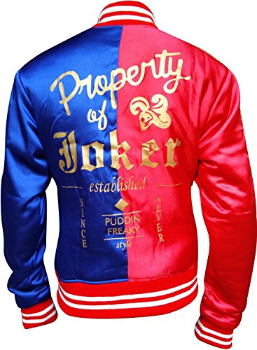 Harley Quinn Jacket Red