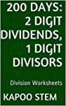 200 Division Worksheets with 2-Digit...