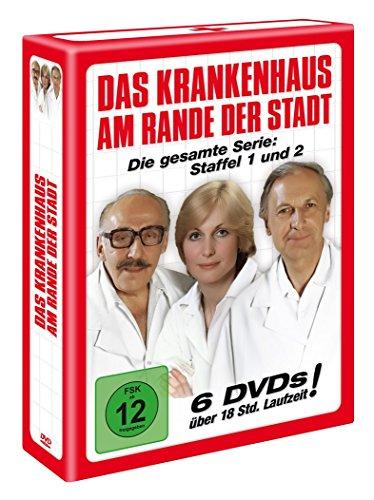 Das Krankenhaus am Rande der Stadt (Staffel 1 + 2) [6 DVDs]