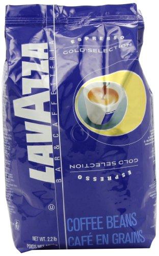 Lavazza Gold Selection Whole Bean Coffee, 2.2-Pound Bag