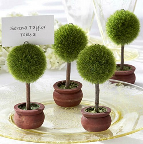 Creative Bonsai Tree Place Card/Photo Holders Baby Shower Gifts & Wedding Favors, 12