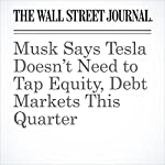 Musk Says Tesla Doesn't Need to Tap Equity, Debt Markets This Quarter | Tim Higgins