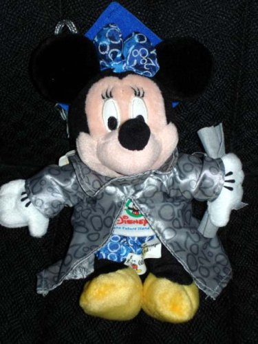 Minnie Grad Nite 2000 Disney Plush Beanie - 1