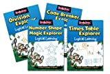 Green Board Games Code Breaker Explorer Logical Learning