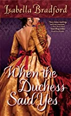 When the Duchess Said Yes (The Wylder Sisters)