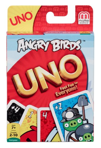 Angry Birds Uno Card Game - 1