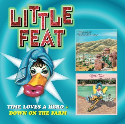 Original album cover of Time Loves a Hero / Down on the Farm by LITTLE FEAT (2012-04-10) by LITTLE FEAT