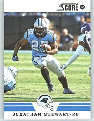 2012 Score Football Card #113 Jonathan Stewart - Carolina Panthers (NFL Trading Card)