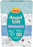 Angel Soft, Everyday, Flat Facial Tissue, 4 Count