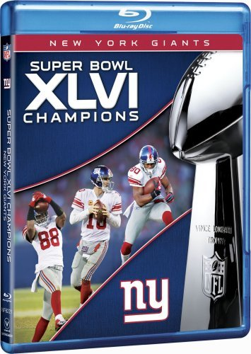 NFL Super Bowl XLVI Champions: 2011 New York Giants [Blu-ray] (Super Bowl 23 compare prices)