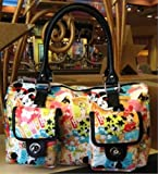 Disney Theme Park Exclusive Mickey Mouse Collage Handbag Purse