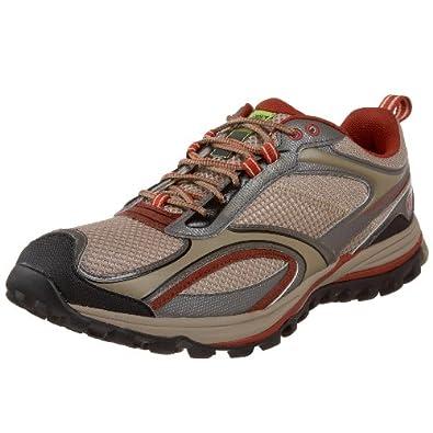 Amazon.com Timberland Mountain Athletics Menu0026#39;s Route Trainer Trail Running ShoeDark Tan/Chili ...