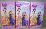 Disney Princess 6 Pack of White Facial Tissues Airel Bell Rapunzel