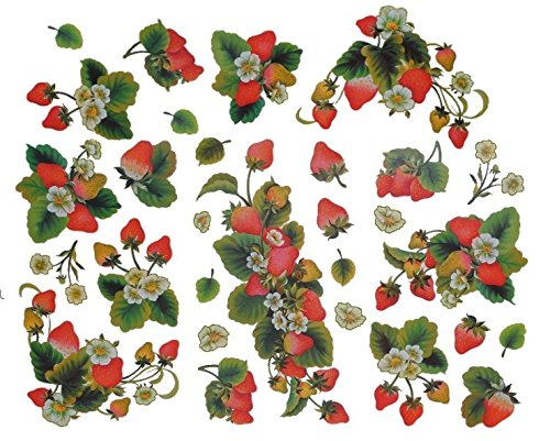 29-tlg-set-wandtattoo-fensterbild-sticker-erdbeere-wandsticker-erdbeeren-frucht-rot-aufkleber