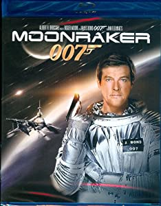 "James Bond film number eleven, ""Moonraker"", once again has Agent 007 played by Roger Moore battling Jaws."