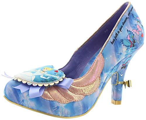 Irregular Choice Donna Faith in Dreams décolleté, blu (blu), 42 EU