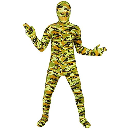 Camouflage Commando Morphsuit Kids Costume