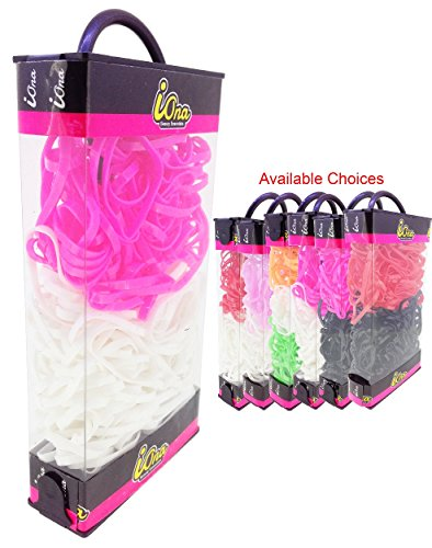 iOna Beauty Essentials PTSET4G6D Hair Band Rubber Bands Elastics Hairband Ponytailer for Girls  available at amazon for Rs.109