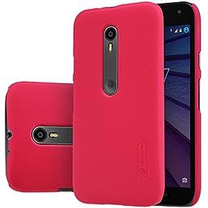 Nillkin Frosted Shield Hard Back Cover Case for Motorola Moto G3 (3rd Gen)XT1550-Red