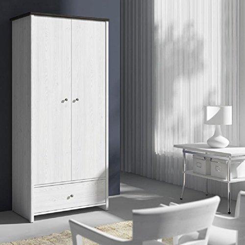 PORTO Amoire 89 cm blanc et noir