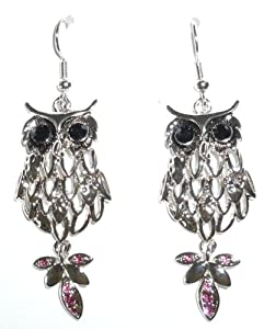 Earrings - Owl Pierced Earrings