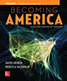 img - for Becoming America Vol 1 w/ 1 Term Connect Plus Access Card book / textbook / text book