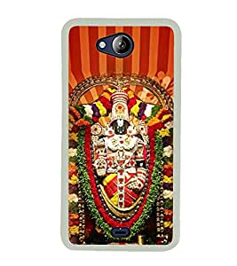 LORD VENKATESWARA Designer Back Case Cover for Micromax Canvas Play Q355