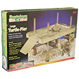 Penn Plax Decorative Turtle Pier Floating/Basking Platform, Large